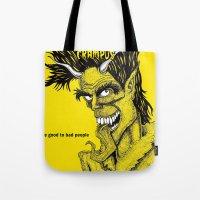 Crampus Tote Bag