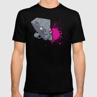 Space Cadet! Mens Fitted Tee Black SMALL