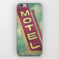 Paradise Motel Sign iPhone & iPod Skin