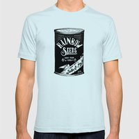 Rainbow Seeds Mens Fitted Tee Light Blue SMALL
