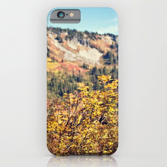 Fall in the Mountains  iPhone & iPod Case