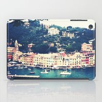 A vintage day in Portofino iPad Case