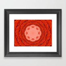 Webbed Depth Framed Art Print
