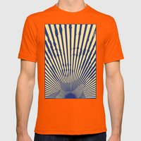 Marylin Sunset Mens Fitted Tee Orange SMALL