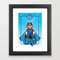 Mario Heisenberg Framed Art Print