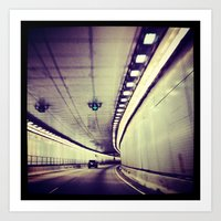 Tunnel Series- 3 Art Print