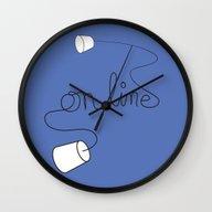 On Line Wall Clock