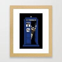 Dr. Dalek Framed Art Print