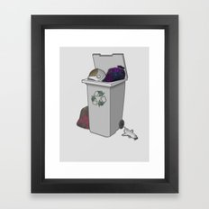 Re-usable Waste Of Space Framed Art Print
