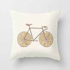 Velocitrus (color version) Throw Pillow