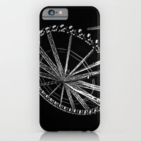 Night Time Ferris Ride iPhone 6 Slim Case