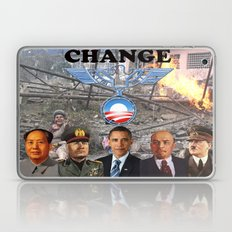 Change (Political Satire) Laptop & iPad Skin