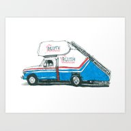 BLUTH Art Print