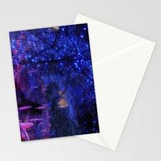 night scene Stationery Cards