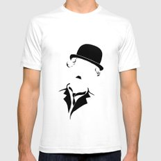 Charlie SMALL White Mens Fitted Tee