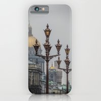 iPhone & iPod Case featuring Street lights of Saint Petersburg  by LudaNayvelt