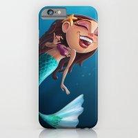 Sofia the Mermaid iPhone 6 Slim Case
