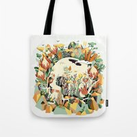 Skull & Fynbos Tote Bag