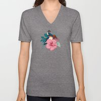 Barn Swallows Unisex V-Neck