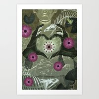 Surgeon's Hands Art Print
