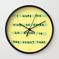 I Hope You Find An Extra… Wall Clock