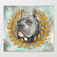 Cane Corso Dog Canvas Print