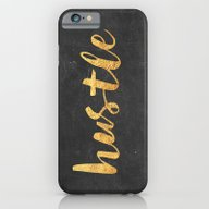 iPhone & iPod Case featuring Hustle by Text Guy