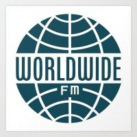 WorldWide FM Art Print