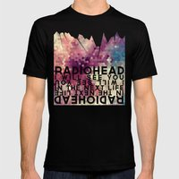Radiohead: I Will See You in the Next Life Mens Fitted Tee Black SMALL