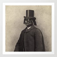 Lord Vadersworth (square format)  Art Print