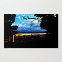 Gateway to Wheatfields Canvas Print