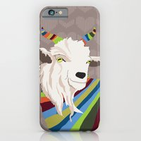 iPhone & iPod Case featuring Sweater Goat by Marlene Pixley