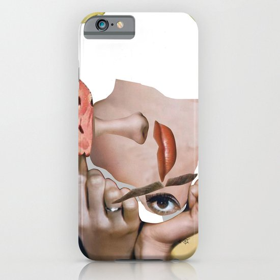 Audrey 2 Collage iPhone & iPod Case