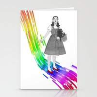 Somewhere Over The Rainb… Stationery Cards