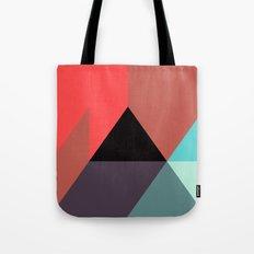 Black Triangle & Reds Tote Bag