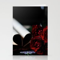 my love is like a red, red rose Stationery Cards