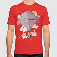 dream big Mens Fitted Tee Red SMALL