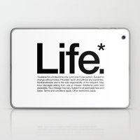 Life.* Available for a limited time only. (White) Laptop & iPad Skin