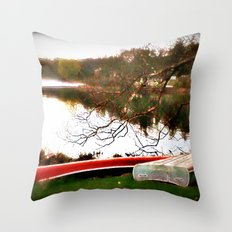From A Stranger's Window Throw Pillow
