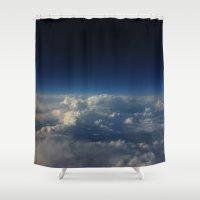 Break through I Shower Curtain