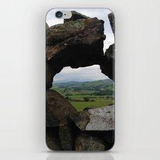 Rock Wall Window iPhone & iPod Skin
