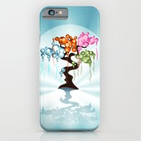 iPhone & iPod Case featuring The Four Seasons Bubble Tree by Ruxique
