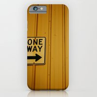 iPhone & iPod Case featuring One Way by PDXLinds