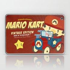 mario kart vintage Laptop & iPad Skin