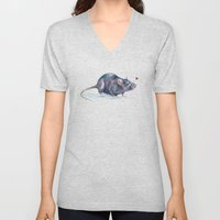 Rat love Unisex V-Neck