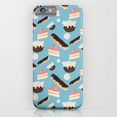 sweet things (on blue) iPhone 6s Slim Case