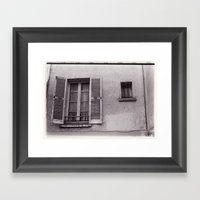 Grande Fenêtre, Petite … Framed Art Print