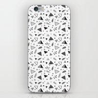 Organic Triangles iPhone & iPod Skin