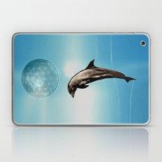 The DOLPHIN - ZEN version Laptop & iPad Skin