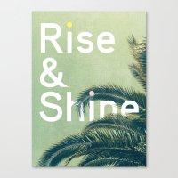 Rise & Shine Canvas Print
